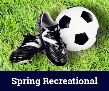 Spring Rec soccer registration