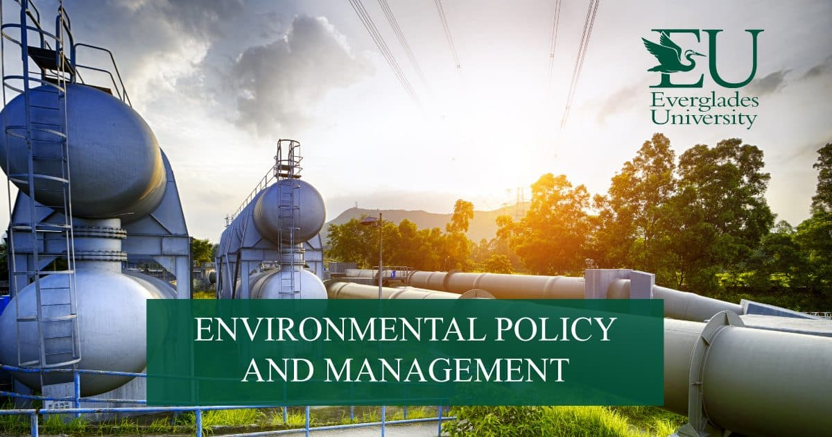 While it may seem unimportant, the bank you choose to use for your small business could have a significant effect on your bottom line. Environmental Policy Degree, BS - Everglades University