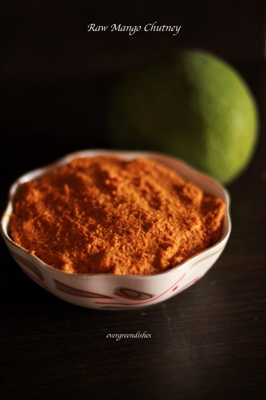 Raw Mango Chutney