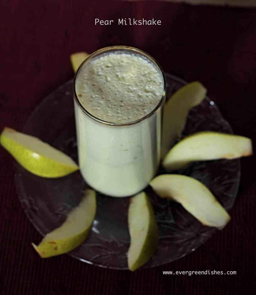 pear milkshake