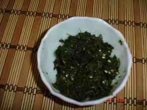 Green chutney