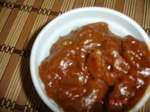 dates tamarind chutney  Ragda Patties DSC01581 300x225