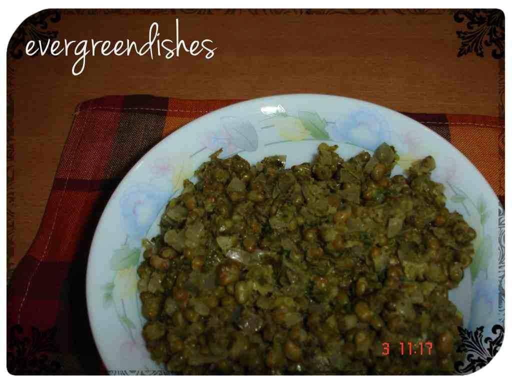 Green gram veggie