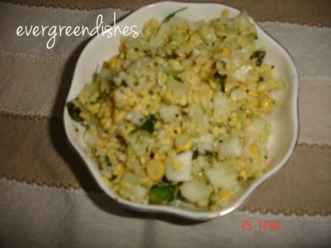 moongdal salad  Festive delicacies moongdal salad 1024x768