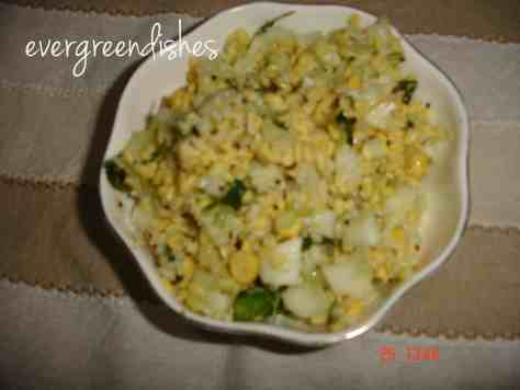 moongdal salad