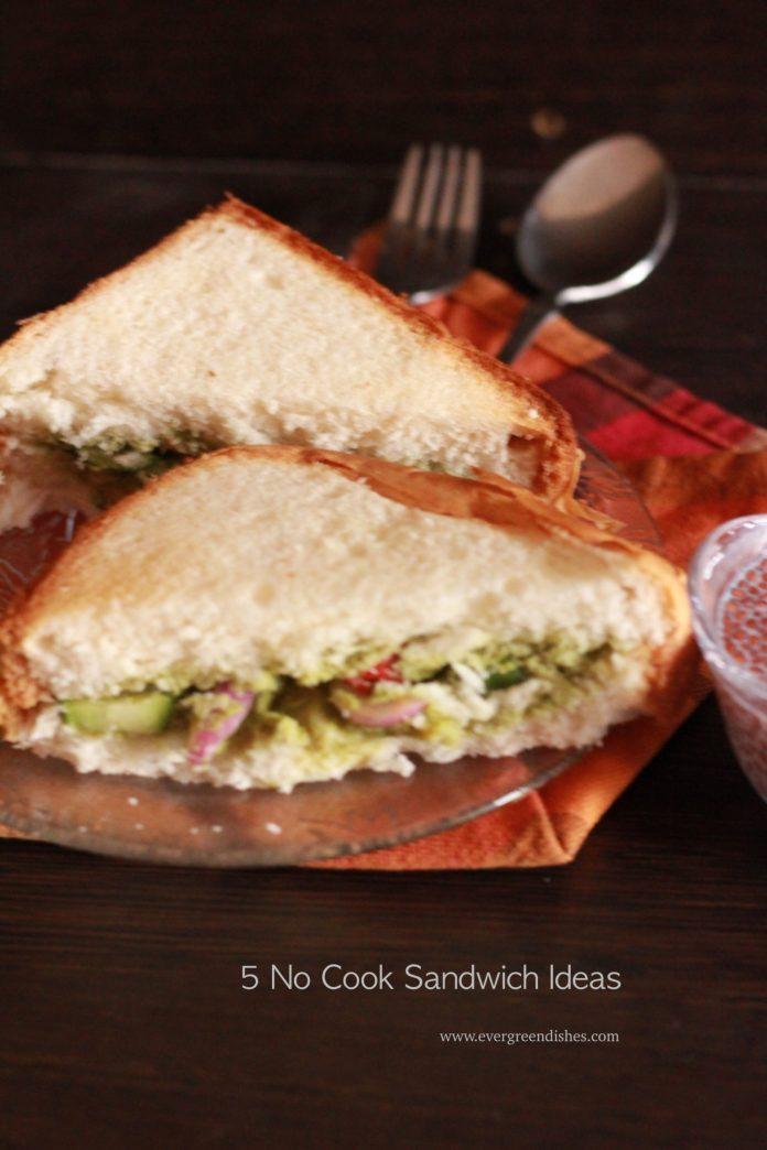 5 No Cook Sandwich Ideas
