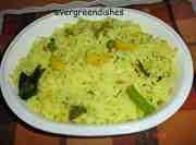 recipe image  Lemon Rice with peas lemon rice with peas