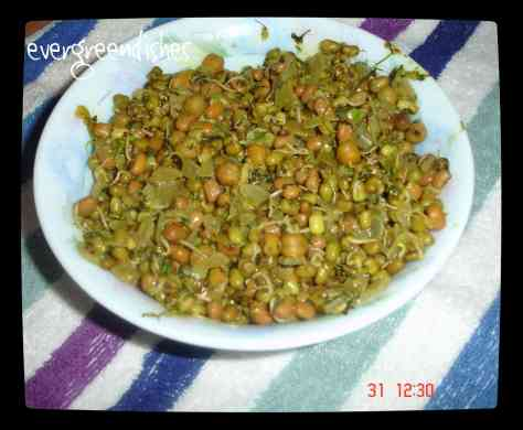 mixed sprouts veggie