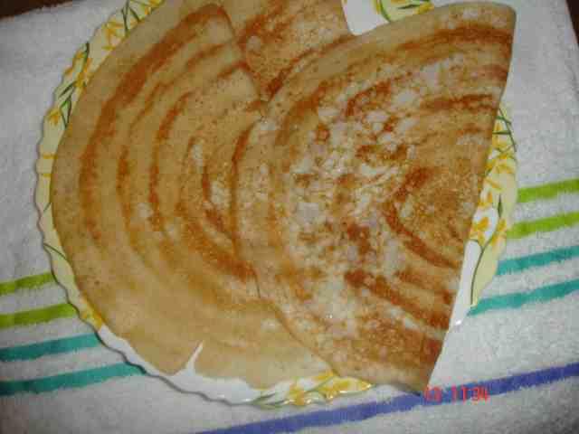 Semolina Dosa  Best of my blog hop recipes DSC02378