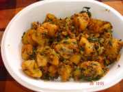 recipe image  Alu Methi | no onion garlic recipe DSC02416