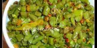 green beans stirfry