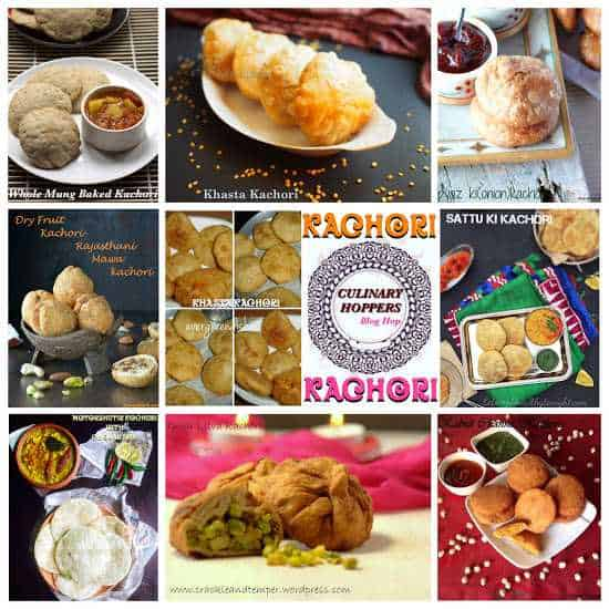 kachori collage  Khasta Kachori kachori collage