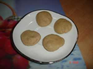 made into small balls