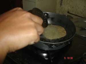 deep fry in oil