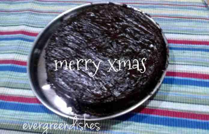 chocolate cake with ganache