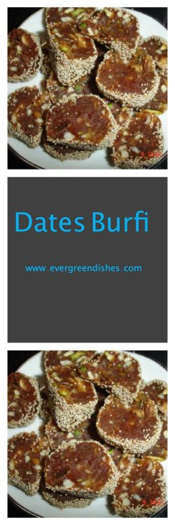 Dates Burfi