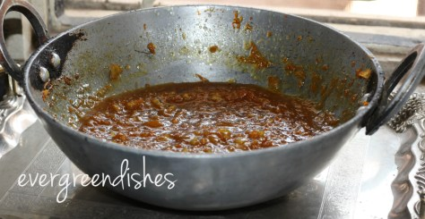 halwa being cooked
