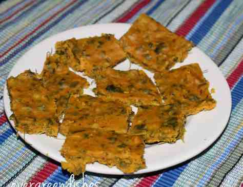 steamed kothimbir vadi