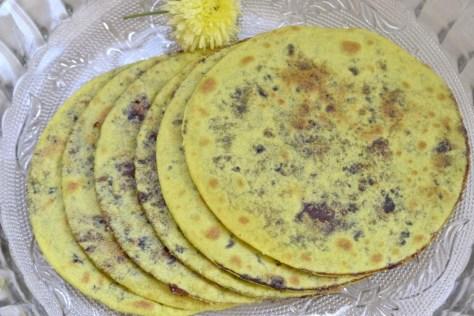 dates puranpoli  Ugadi special khajoor holige 1024x683