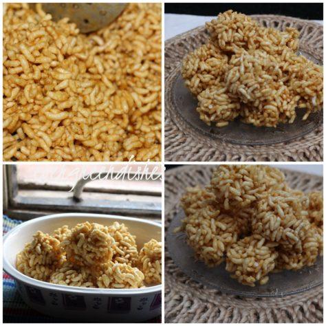 puffed rice balls  Puffed rice balls aka Gujarati Mamra na ladoo puffed rice balls1 1024x1024