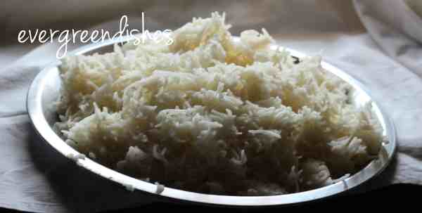 cool the rice