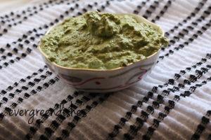 paste is ready Majjige huli Majjige huli, south indian yoghurt curry majjige huli5 300x200