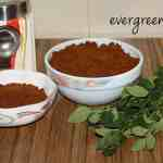 curry leaf powder curry leaf powder Curry leaf powder/karibevina chutney pudi curryleaf powder5