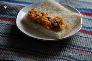 mixture is put on one side roasted paneer slabs Roasted paneer slabs/bread roll in steps grilled paneer slabs3 300x200