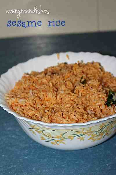 sesame rice  Sesame Rice/ how to make sesame rice sesame rice8 200x300