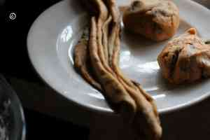 balls of dough mint paratha, pudina paratha Mint paratha, pudina paratha in steps mint paratha4 300x200