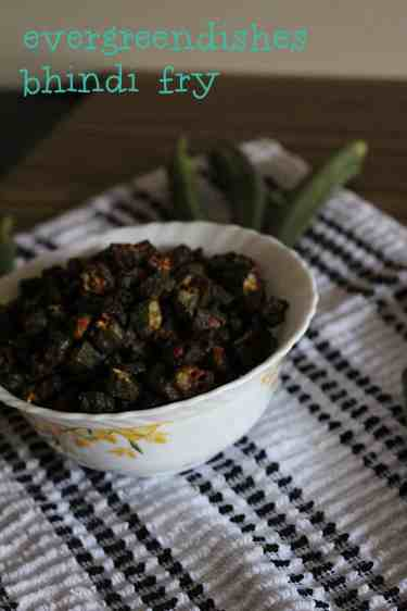 bhindi fry tasty bhindi fry/ ladies finger Tasty Bhindi Fry | okra fry bhindi fry6 200x300