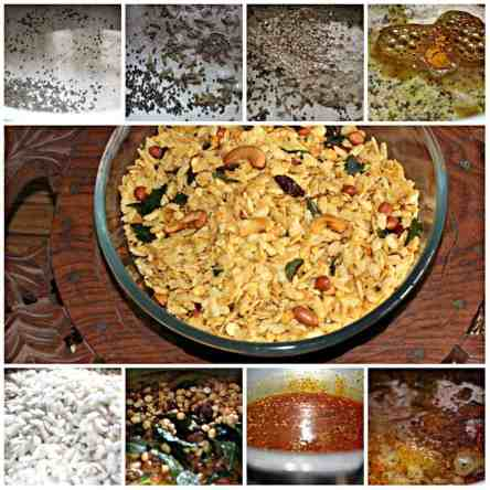 making of chiwda how to make chiwda at home How to make chiwda at home collage chiwda 300x300
