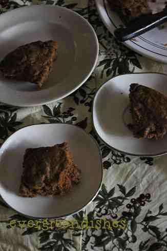 mocha banana cake  Mocha Banana Cake | healthy mocha cake mocha banana cake2 200x300