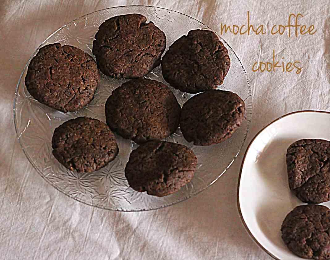 mocha coffee cookies