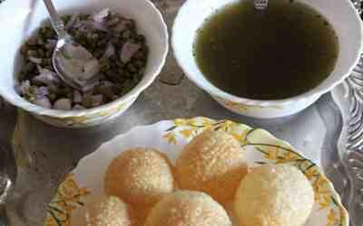 Panipuri/ golgappa/ puchka/ chaats time