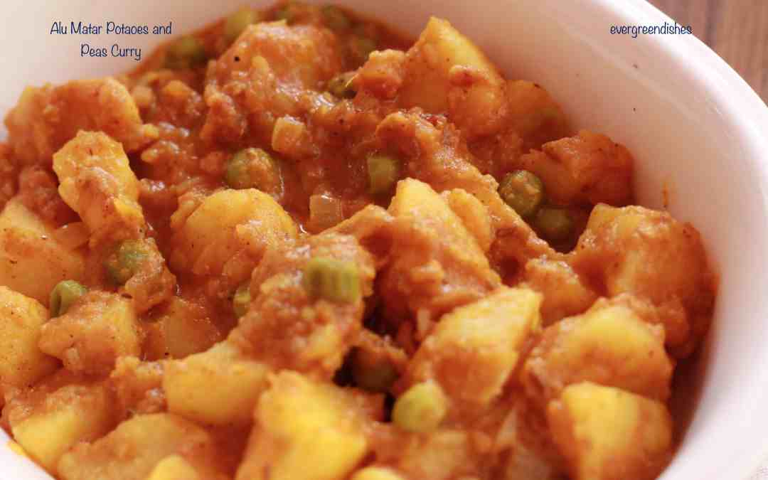 Aloo Matar / Potato Pea Curry