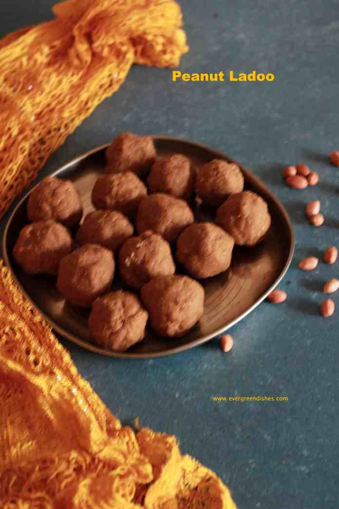 peanut ladoo / shenga undi