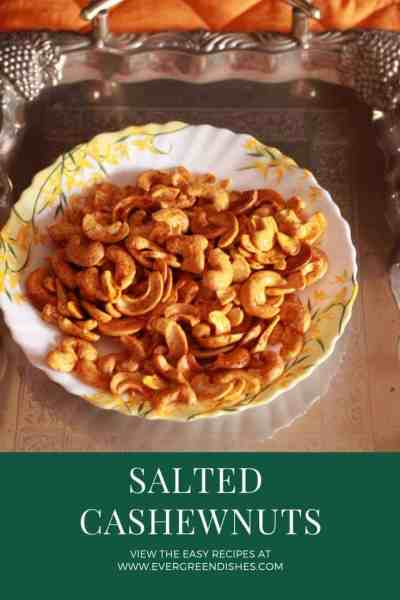 Salty Cashew nuts