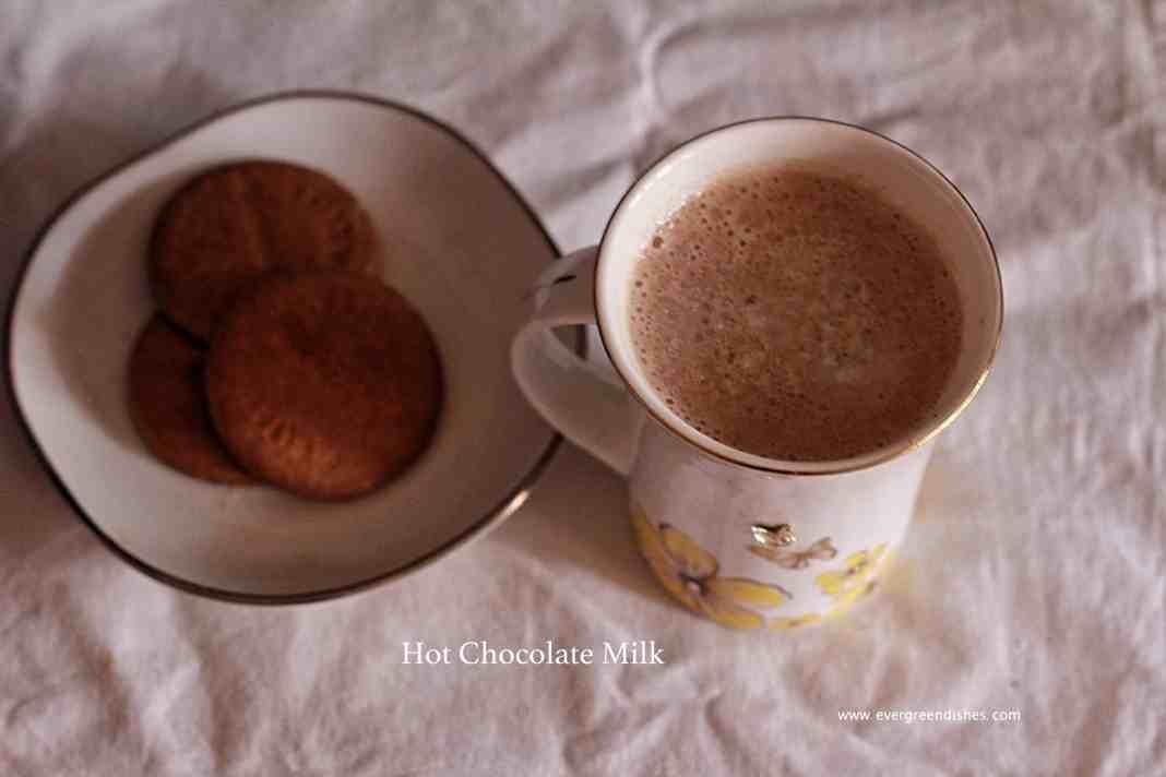 hot chocolate milk