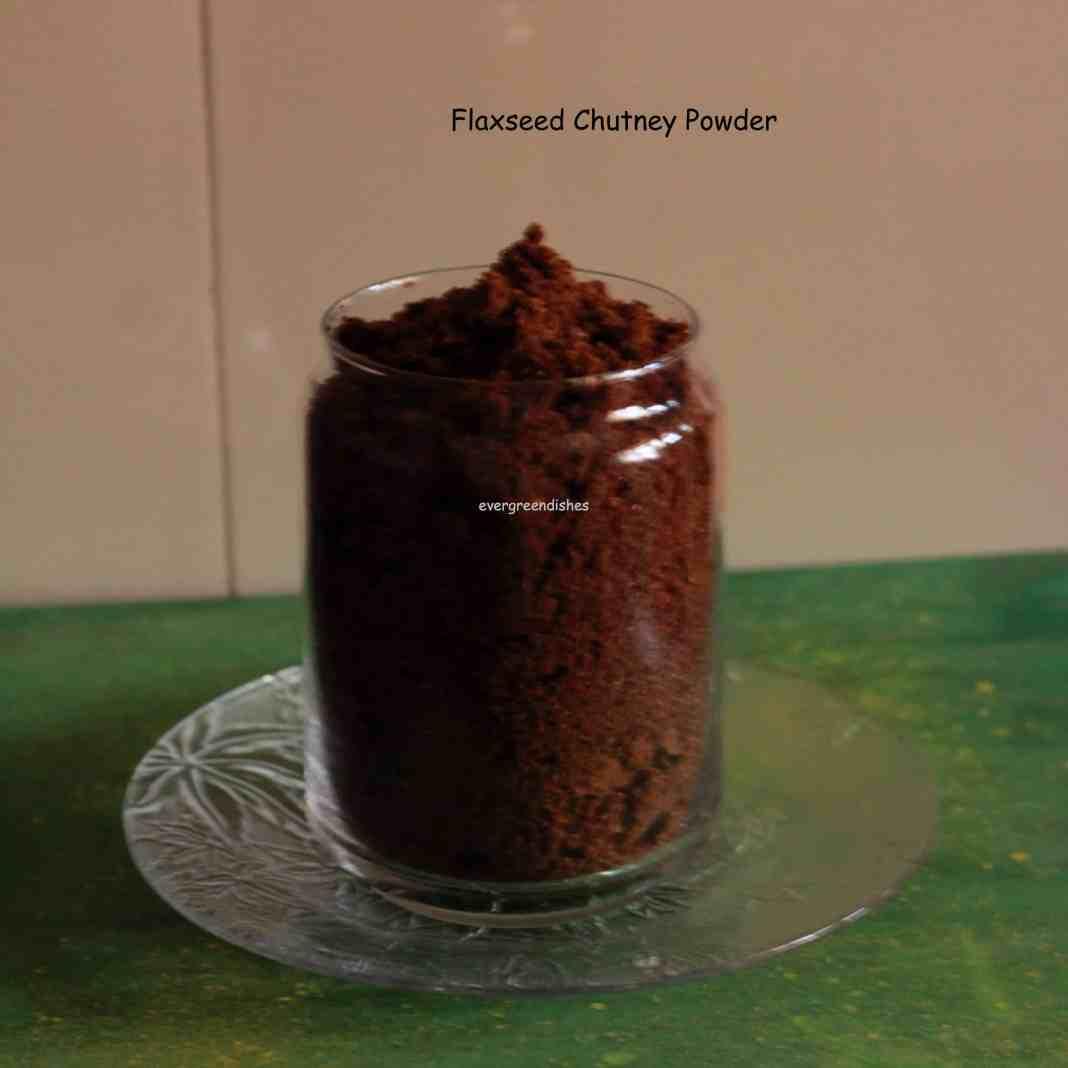 flaxseed chutney powder