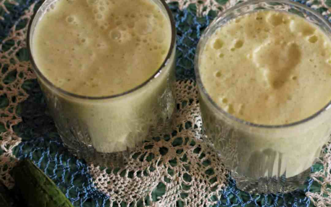 Cucumber Lassi / summer treats