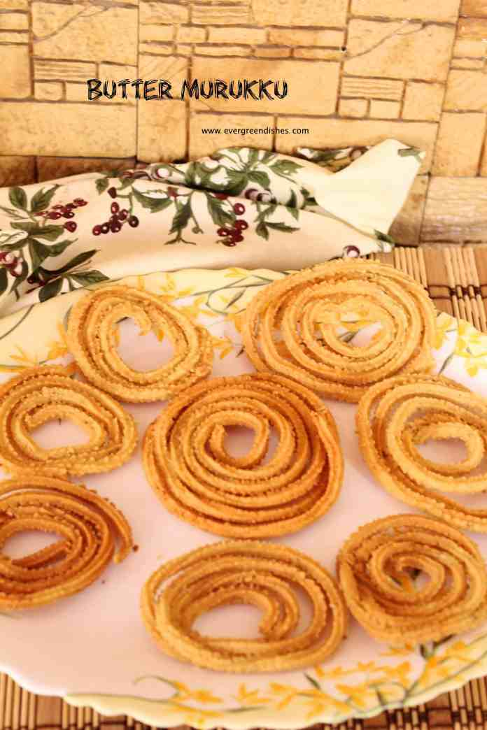 Butter Murukku / murukku recipe