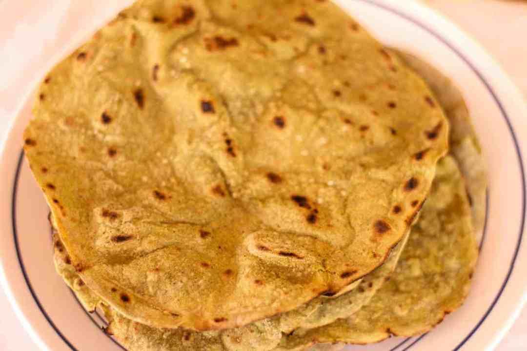 Sajje Rotti / Bajra Roti / Pearl Millet Roti