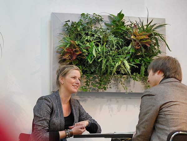 Interior Landscaping In Vertical Spaces Living Walls San