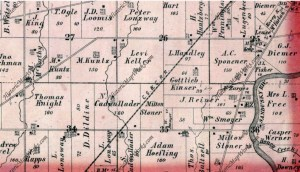 Hopewell Township, Atlas: Seneca County 1874, Ohio Historical M