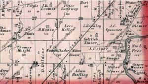 Hopewell Township, Atlas: Seneca County 1874, Ohio Historical M