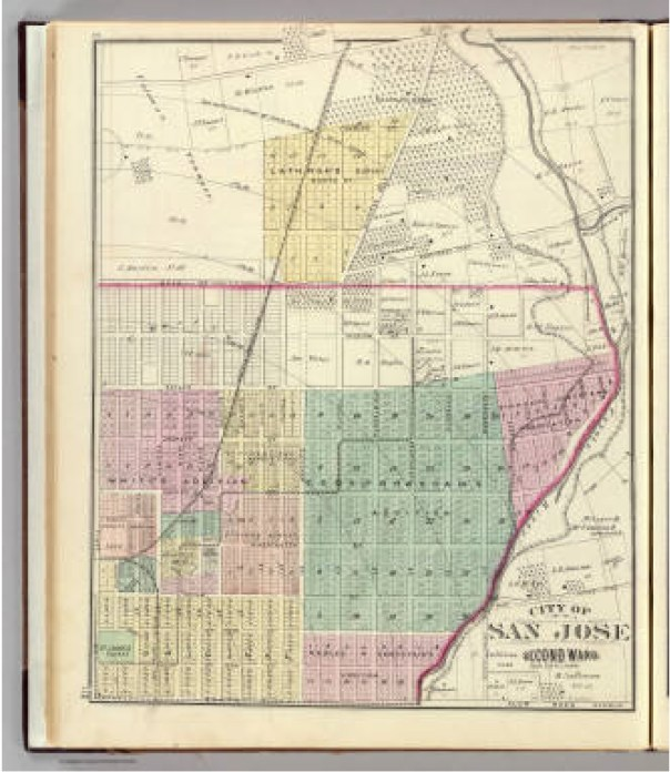 San Jose 2nd ward. - David Rumsey Historical Map Collection