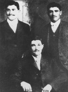 148) Herman, Peter, & John Mirassou, circa 1905