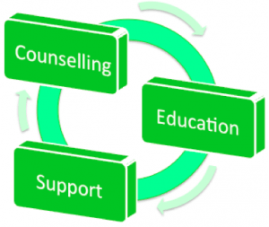 counselling education support
