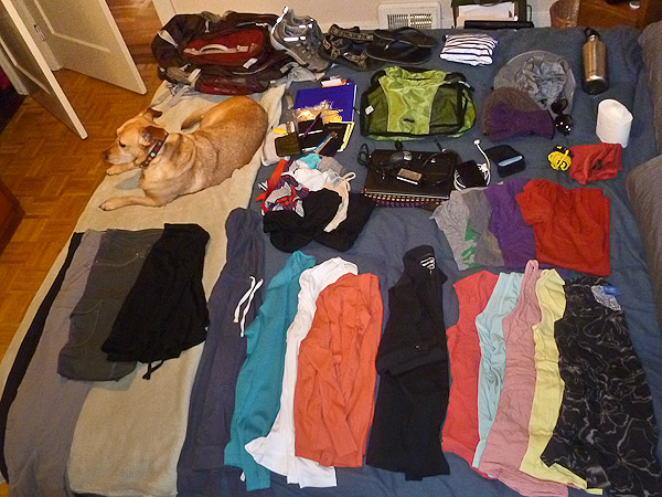 My carry on packing list for women